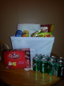 Jamie's Movie Basket