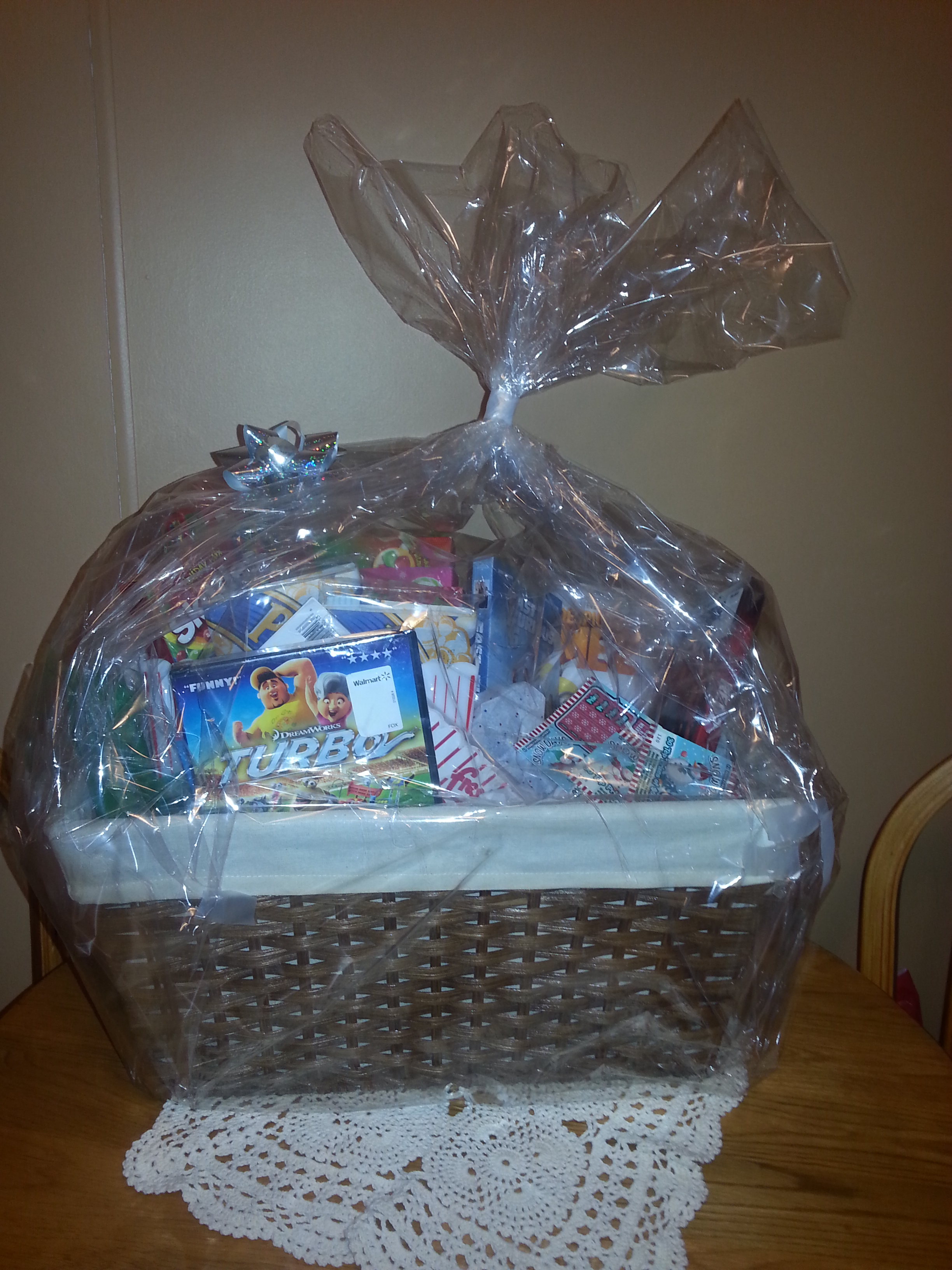 Kelly's Movie Basket